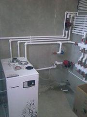 Услуги сантехника по замене котлов, отопления